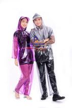 Bộ áo mưa PVC không màu