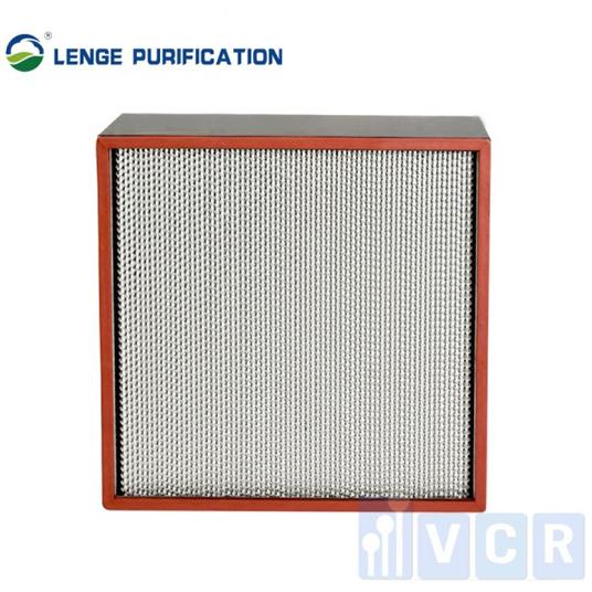 Bộ lọc Hepa phân tách chịu nhiệt độ cao