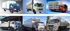 Vận chuyển bằng xe tải thùng đa năng