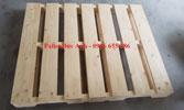 Pallet gỗ thông sấy