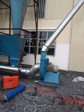 Thi công hệ thống thông gió nhà xưởng