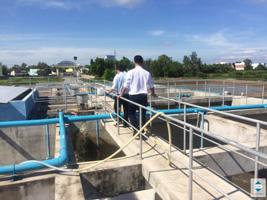 Khảo sát hệ thống xử lý nước thải