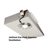 Thông gió bãi đậu xe JetVent