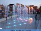 Sàn phun nước cho khu vui chơi