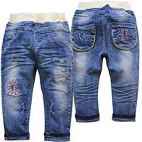 May gia công quần jeans trẻ em