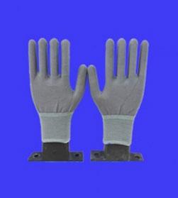 Găng tay PU phủ bàn màu xám