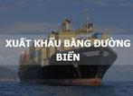 Dịch vụ xuất khẩu đường biển