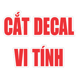 Cắt decal