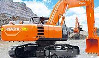 Cho thuê máy xúc đào Hitachi ZX330-3