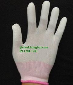 Găng tay bao ngón màu trắng
