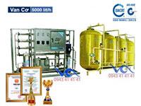 Dây chuyền lọc nước tinh khiết composite