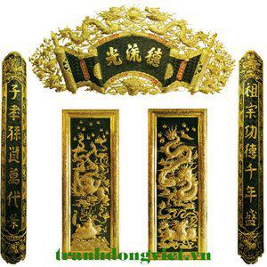 Đồ thờ dát vàng