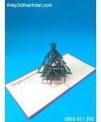Thiệp 3D giáng sinh
