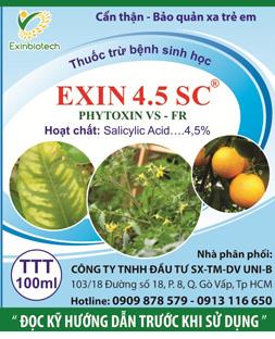 Thuốc trừ bệnh cây ăn trái