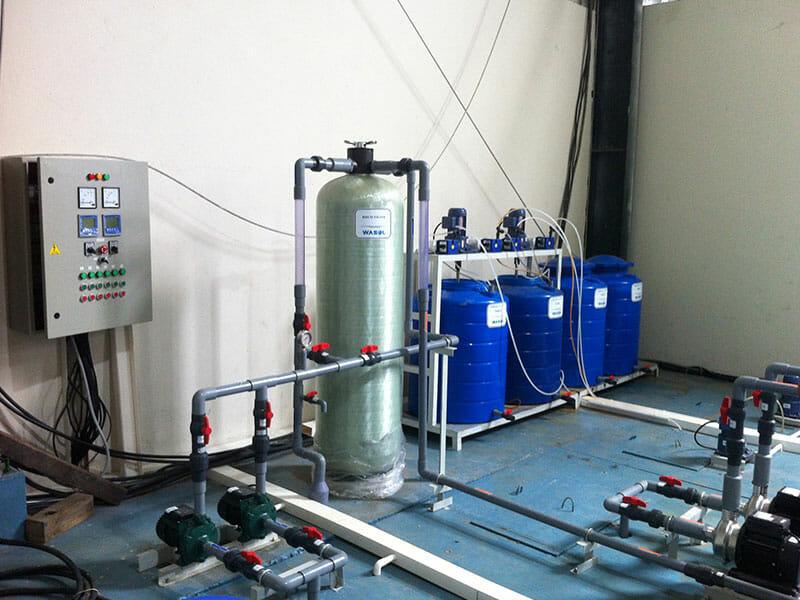Hệ thống xử lỹ nước thải ngành sơn