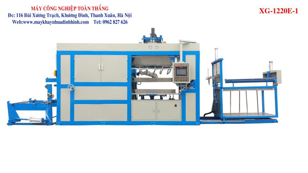 Máy sản xuất khay nhựa định hình XG-1220E-1