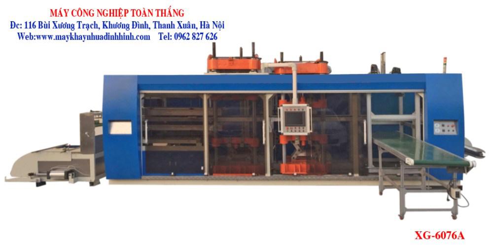 Máy sản xuất khay nhựa định hình XG-6076A