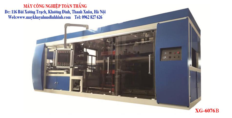 Máy sản xuất khay nhựa định hình XG-6076B