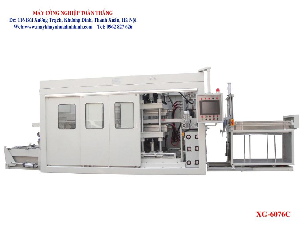 Máy sản xuất khay nhựa định hình XG-6076C