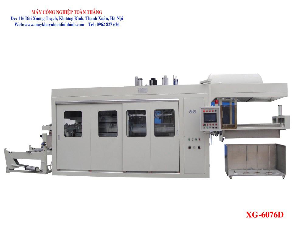 Máy sản xuất khay nhựa định hình XG-6076D