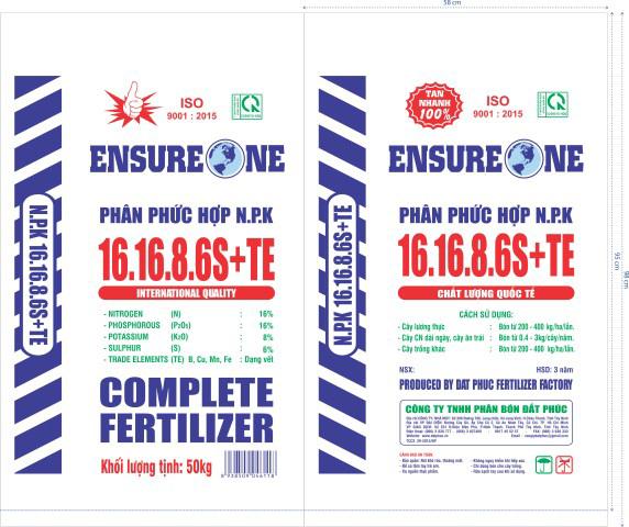 NPK 16-16-8-6S + TE