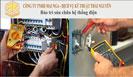 Bảo trì sửa chữa hệ thống điện
