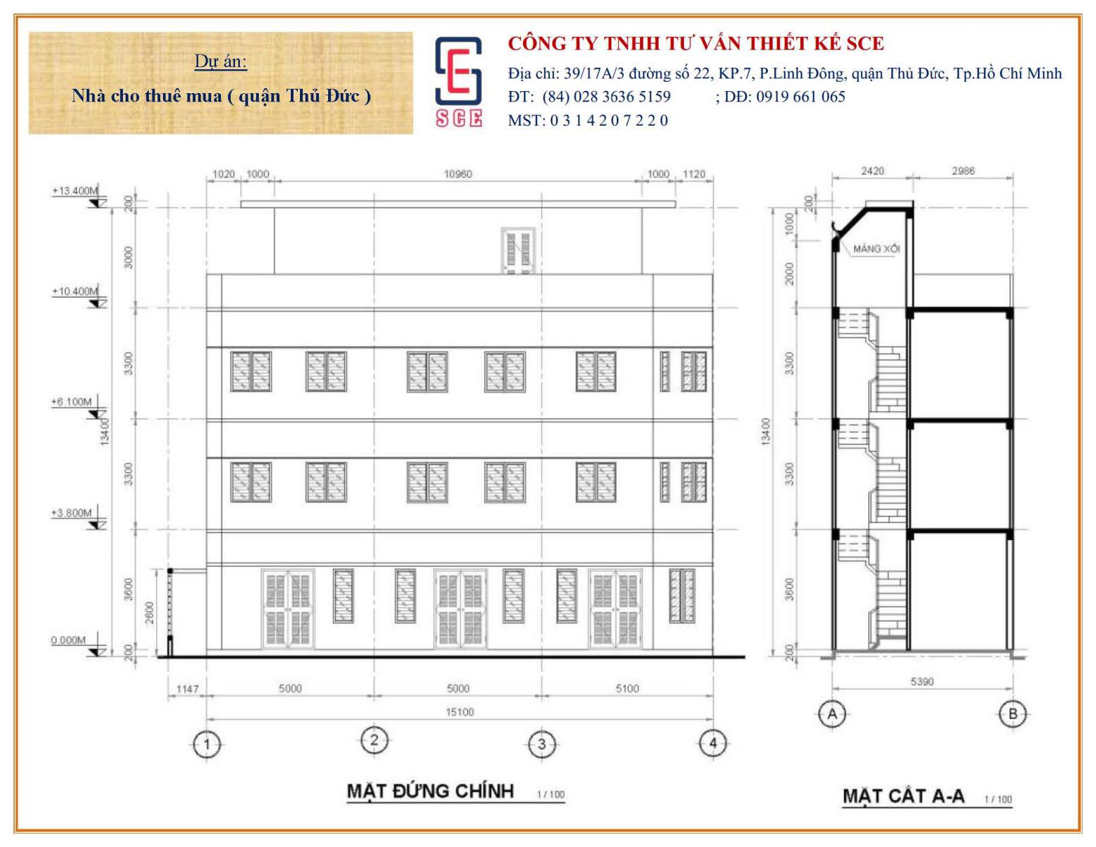 Tư vấn thiết kế nhà cho thuê