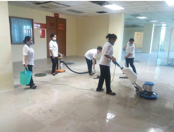Dịch vụ vệ sinh công trình