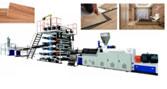 Máy sản xuất sàn nhưa