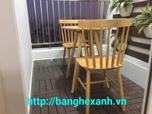 Bàn ghế gỗ tự nhiên