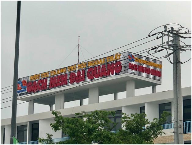 Thiết kế thi công biển hiệu