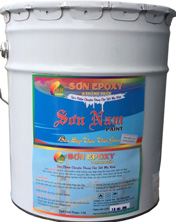Sơn Epoxy 2 thành phần thùng 20L