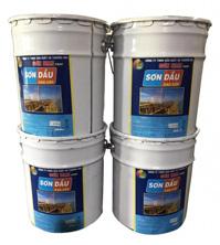 Sơn dầu tổng hợp thùng tròn loại 20kg
