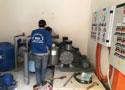 Lắp máy thổi khí công suất lớn