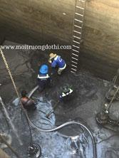 Dịch vụ nạo vét hầm chứa nước thải