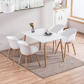 Bộ bàn ăn 4 ghế Dexer