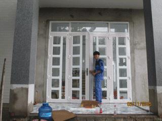 Cửa nhôm kính Tungshin