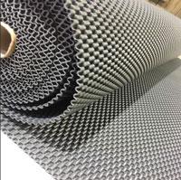 Thảm lót 3D xám đen
