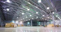 Thi công hệ thống chiếu sáng nhà xưởng