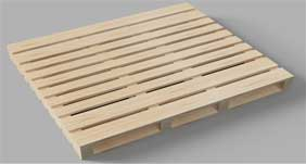Pallet gỗ 2 mặt