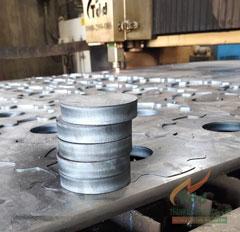 Cắt Laser CNC sắt tấm dày 16mm