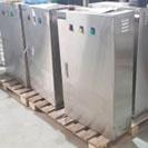 Vỏ tủ phân phối bằng inox xước