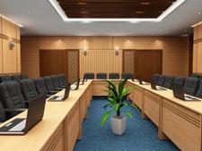 Nội thất gỗ phòng họp