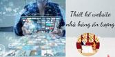Dịch vụ thiết kế Web nhà hàng ẩm thực