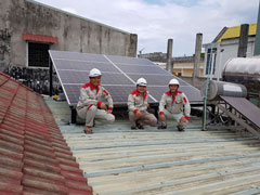 Lắp đặt hệ thống điện năng lượng mặt trời