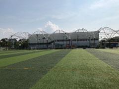 Mái vòm sân thể thao trường Bis (Hà Nội)