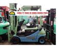 Xe nâng điện ngồi lái KOMATSU 2 tấn