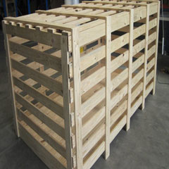Thùng gỗ nan