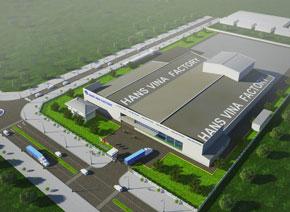 Nhà máy sản xuất màng PE Hans Vina