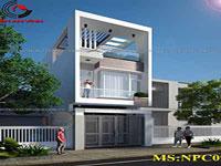 Cho thuê nhà 4 lầu quận Tân Phú